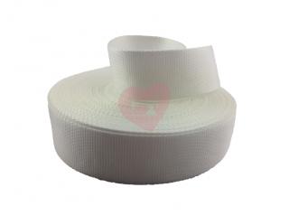 popruh 50mm pop polypropylen bílá