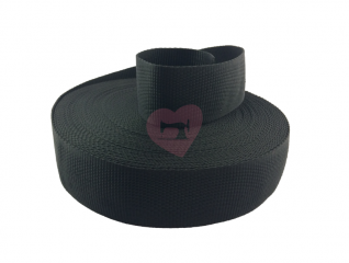 popruh 50mm pop polypropylen černá