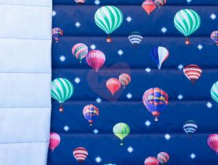 prošev balony na modré