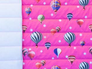 prošev balony na růžové
