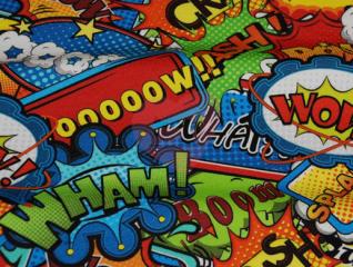 teplákovina graffiti wow komiks