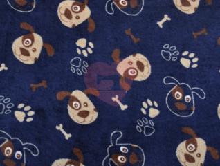 medvídek pejsi little darling fleece