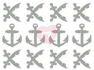 reflexní nažehlovačka potisk piráti