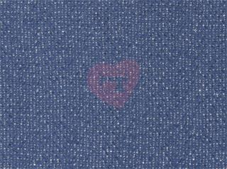 svetrovina 270g lurex modrá