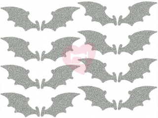 reflexní nažehlovačka potisk křídla netopýr