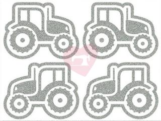 reflexní nažehlovačka potisk traktor