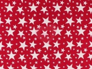 úplet bílé hvězdy na červené