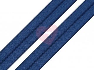 lemovací pruženka půlená 19mm nám modrá