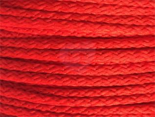 šňůra pes 4mm červená