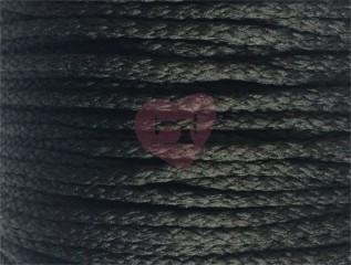 šňůra pes 4mm černá