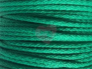 oděvňí šňůra pes 4mm zelená