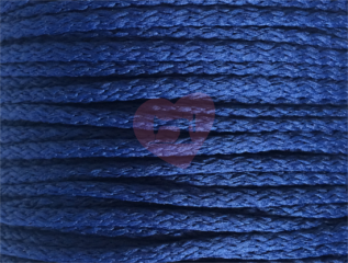oděvňí šňůra pes 4mm modrá