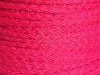 oděvňí šňůra pes 4mm růžová