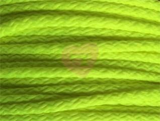 oděvňí šňůra pes 4mm neon zelená