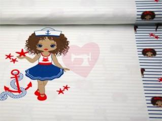 borura panel holčička v námořnickém