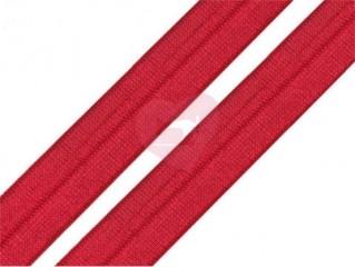lemovací pruženka půlená 19mm červená