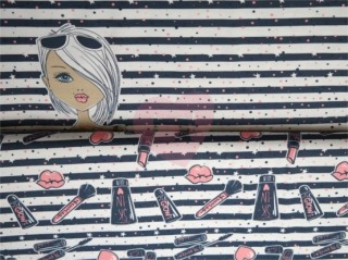 úplet panel dívka make-up námořnická