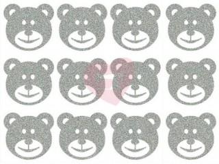 nažehlovačka nažehlovací potisk reflexní medvídci
