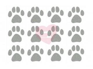 nažehlovačka nažehlovací potisk reflexní psí tlapičky