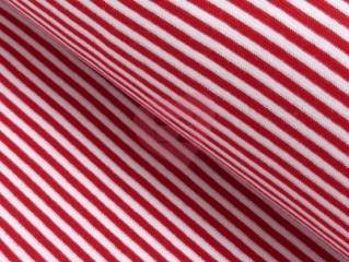 náplet proužek červená bílá 5mm
