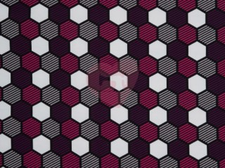 hexadon včelí plástve teplákovina