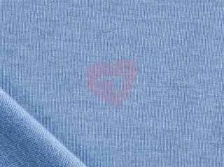 teplákovina jeans modrá melé melanž