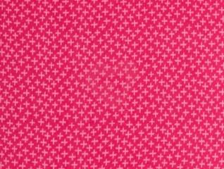 náplet se vzorem křížky růžové tunel 55cm