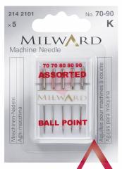 Jehly do šicího stroje na úplet Milward 70 - 90 2142101