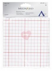 čtverečkovaný papír na střihy 3ks milward 2161119