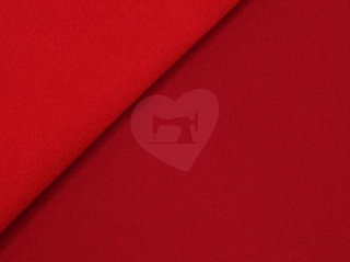 Softshell červený 3 vrstvý zimní